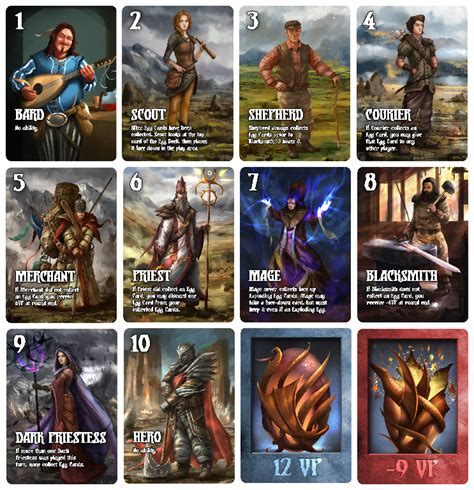 one night werewolf printable cards eggs and empires 84 ron regatul jocurilor board games