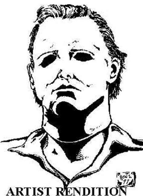 Photo Page Michael Myers Coloring Pages