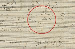 doodle daily mail beethoven s musical doodle reveals how he improvised on