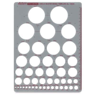 metric circle template 55476 2011 chartpak pickett circle templates blick