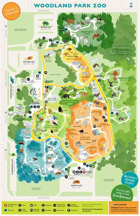seattle jungle map guest services map rentals accessibility woodland