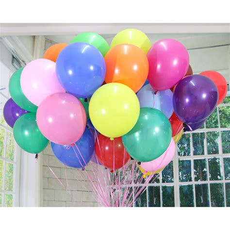 Balon 9 Metallic Warna Isi 100 Pcs Balon Doff 12 Inchi Warna Warni Balloon Corner