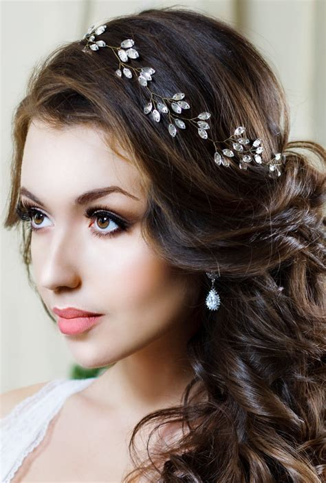 Wedding Hair With Headpiece by Bridal Headband Headpiece Tiara By