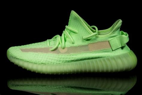 Adidas Yeezy 350 Glow Release by Adidas Yeezy 350 V2 Quot Glow In The Quot Shop Now At Stockx