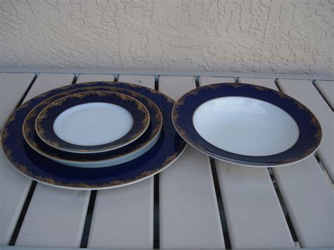 classic china patterns rosenthal classic china 6090 pattern in cobalt blue and