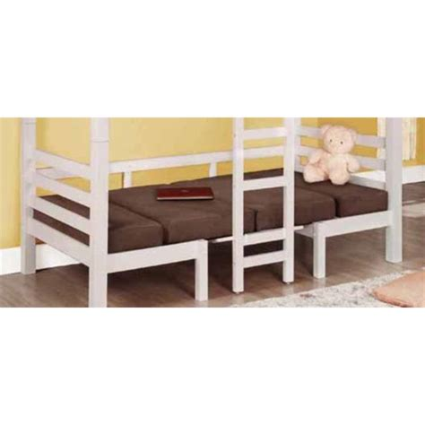 Coaster Twin Bunk Bed In Chocolate 4602m Coaster Bunk Beds