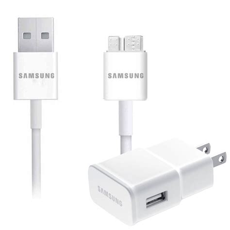 Charger Samsung J3 2016 2a Original 1 samsung 2a usb 3 0 travel charger sync cable for galaxy s5