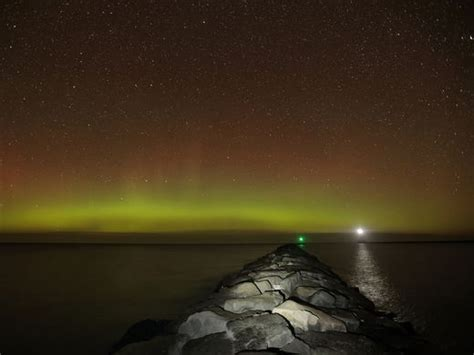 Northern Lights Visible Tonight by Northern Lights May Be Visible In Northern Michigan Tonight