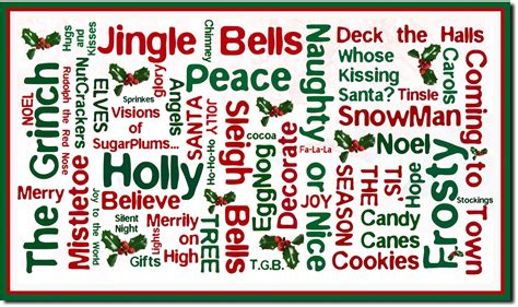 10 words to describe the christmas period southbourne