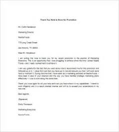 Thank You Letter To My Boss Sample 10 Thank You Notes To Boss Free Sample Example Format