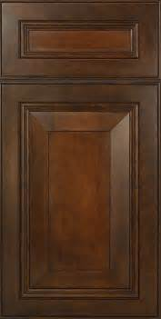 cherry wood kitchen cabinet doors mitered cabinet doors in cherry wood that are stained to
