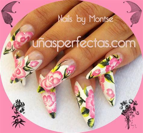 imagenes de uñas decoradas a mano u 241 as perfectas u 241 as esculpidas y decoradas en m 225 laga 692