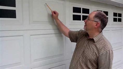 faux windaux tm faux fake garage door windows