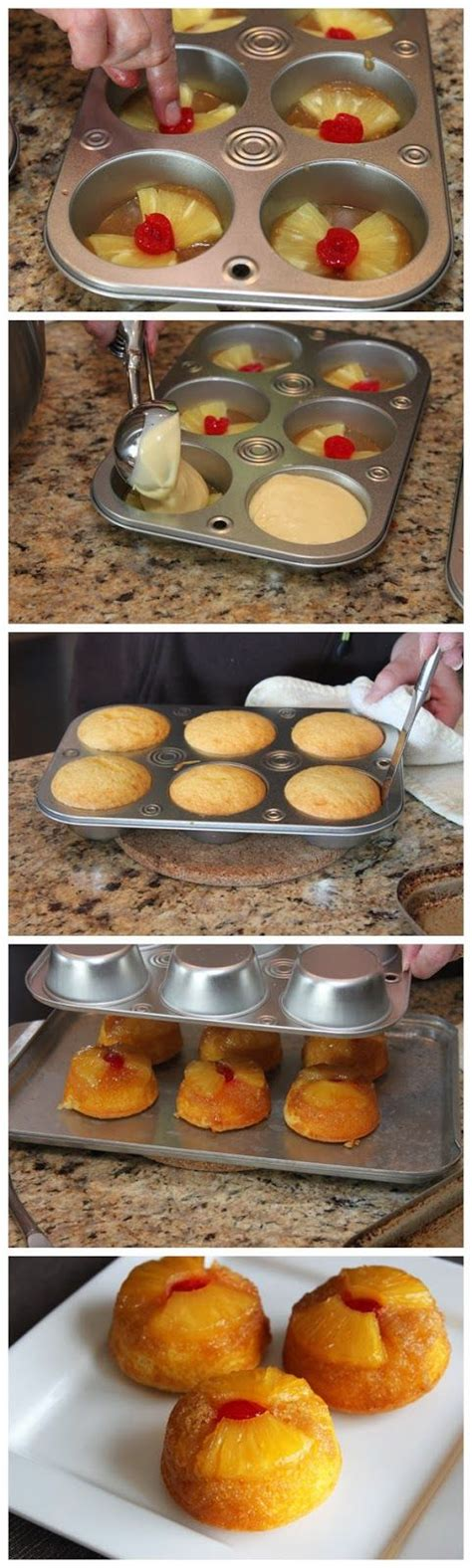 pineapple upside down cupcakes the host pinterest