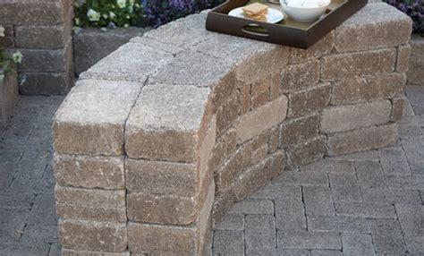 patio pavers bench search paver landscape ideas