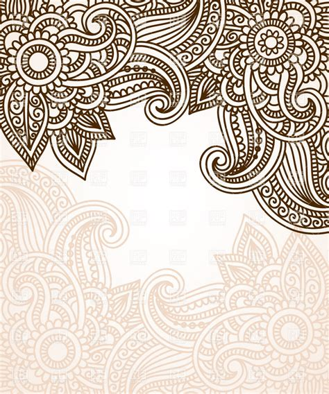 ethnic pattern art abstract floral ethnic pattern royalty free vector clip