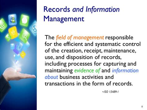 Records Information Electronic Records Management Ppt