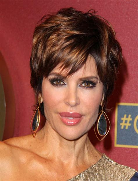 lisa rena hairstyles 2015 lisa rinna short straight hairstyles 2015