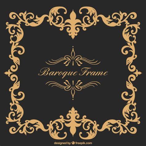 cornice barocco cornice barocca scaricare vettori gratis