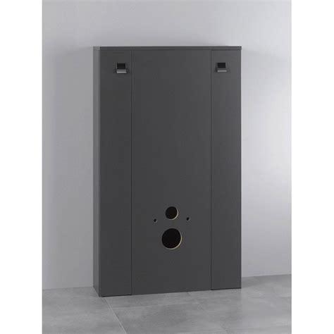 meuble pour wc suspendu coin d o 80 4x130 4x25cm leroy