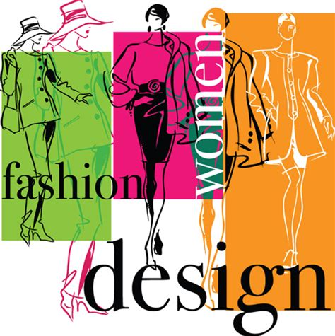 fashion illustration vector file fashion design elements vector 04 free