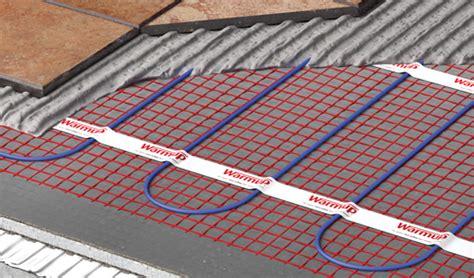 Underfloor Heat Mat by Heated Floor Mat Electric Underfloor Heating Mat Warmup