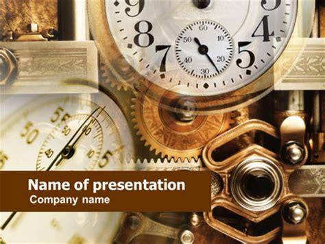 powerpoint themes clock powerpoint template clock clock mechanism powerpoint