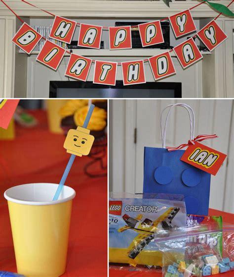 lego themed birthday decorations 20 lego birthday and lego cakes printables tip