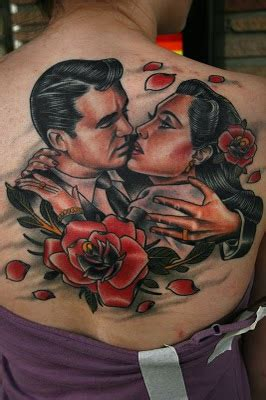 tattoo couple kissing 3d tattos for men for girls for women tumblr designs 2013