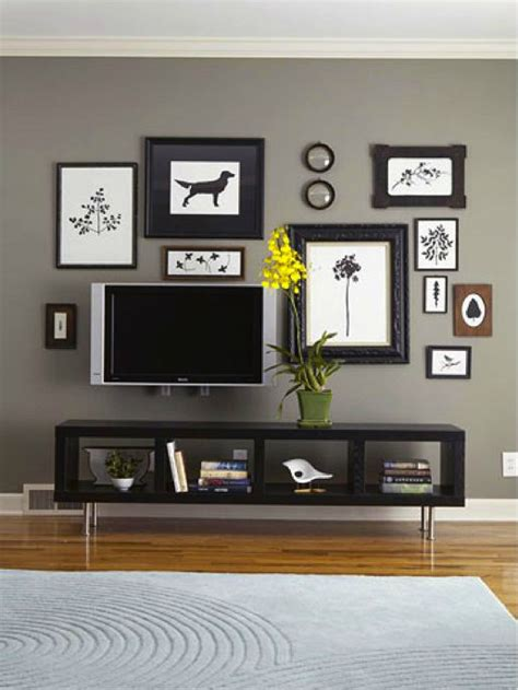 Living Room Decor With No Tv 40 Tv Wall Decor Ideas Decoholic