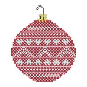 christmas ornaments cross stitch patterns of christmas