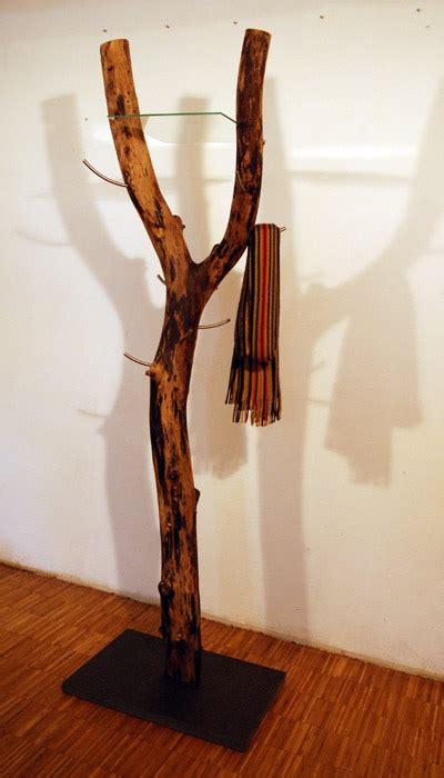 Baumstamm Als Garderobe by Garderobe Baumstamm Haus Dekoration