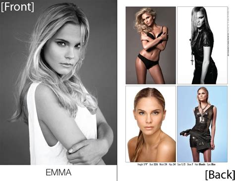 how to make a model comp card model composite cards pricing sles order model