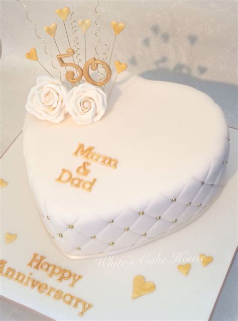 Wedding Anniversary Ideas Pictures by 25 Best Ideas About Golden Anniversary Cake On