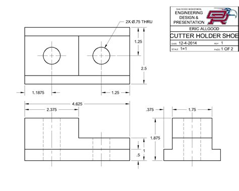 autocad drawing autocad drawings eric allgood e portfolio