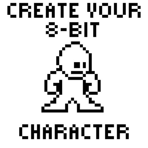 Drawing 8 Bit Characters by Pixel Create Your 16 Bit Character On Collabore