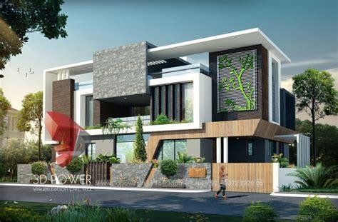 duplex bungalow elevation