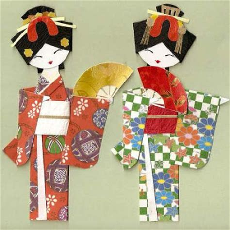 Origami Geisha - origami paper largest insect 3d origami easy