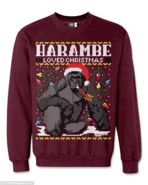 harambe loved sweatshirt sells fast