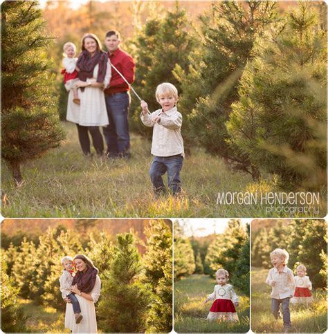 holiday mini sessions at jordan lake christmas tree farm