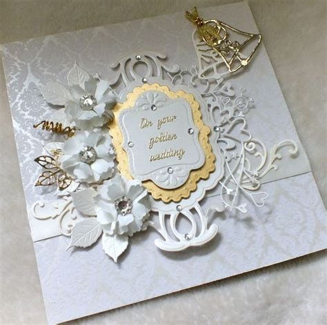 Handmade Golden Wedding Cards - 17 best images about anniversary cards on