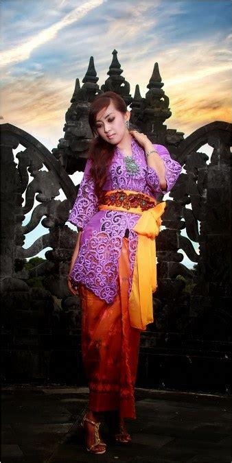 Selendang Dan Obi Kebaya Bali kebaya bali klasik dan modern ide model busana