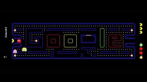 doodle pacman pacman 1st only high score 181 460