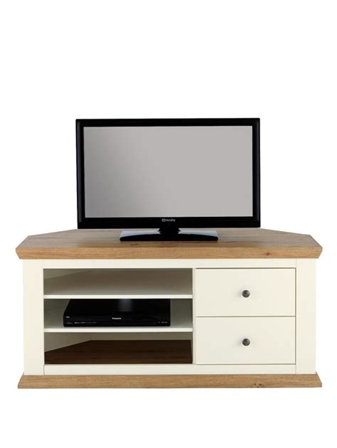 cream corner tv cabinet furniture white corner tv stand with glass media cabinet