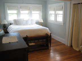 spacious master bedroom with beautiful hardwood floors
