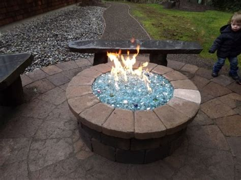 propane pit glass 25 best ideas about glass on glass