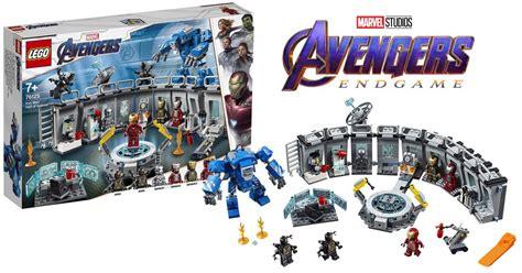 lego avengers endgame iron man hall armor set
