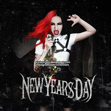 new year album new years day kill or be killed ft ash by vivienn on