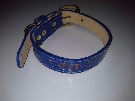 custom leather collars custom yoda leather collar