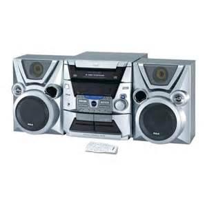 rca rs2610 cd audio shelf system audio shelf systems